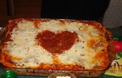 vtines lasagna